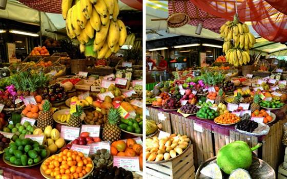 Frutta, verdura, soprammobili ma anche formaggi e vino: al