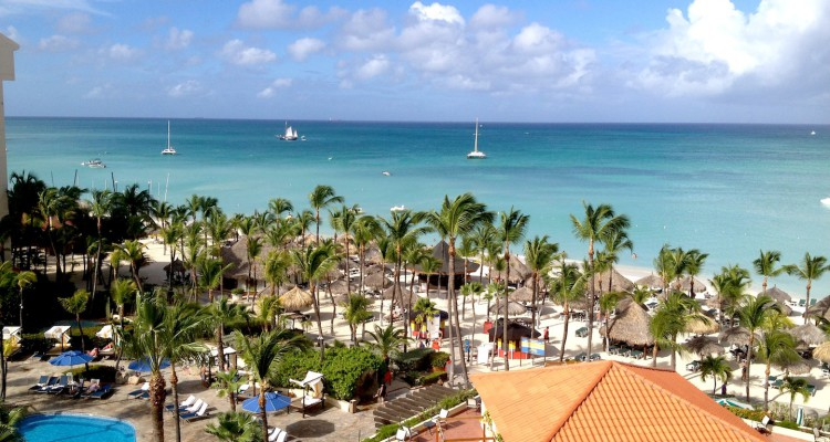 Aruba -Vista dall'Occidental