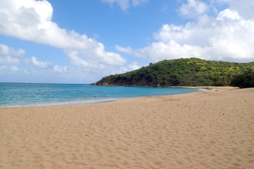 Happy Bay, spiaggia segreta St. Martin