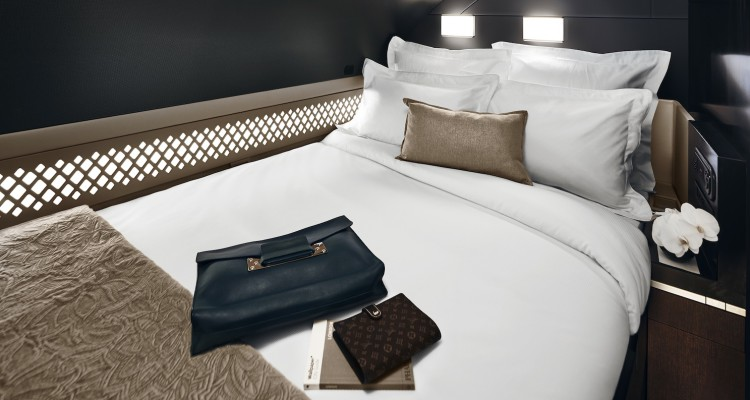 THE_RESIDENCE BEDROOM Etihad Airways Letto in aereo