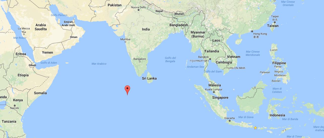Dove si trovano le Maldive Mappa Maldive
