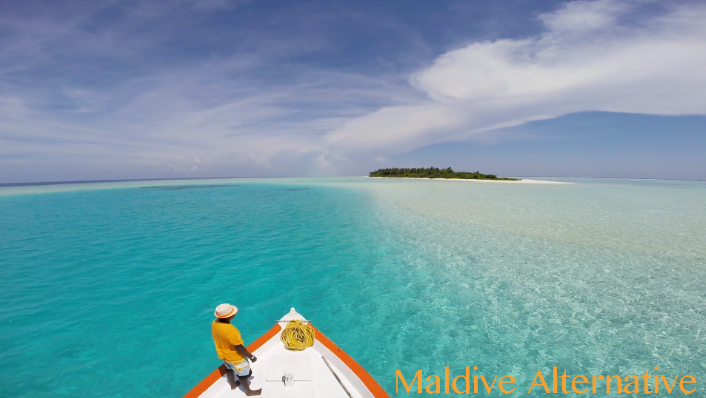Maldive Alternative - drone