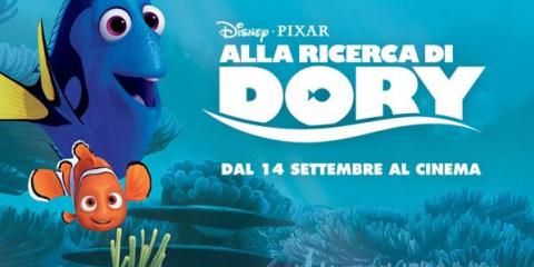 Alla ricerca di Dory - i personaggi del film