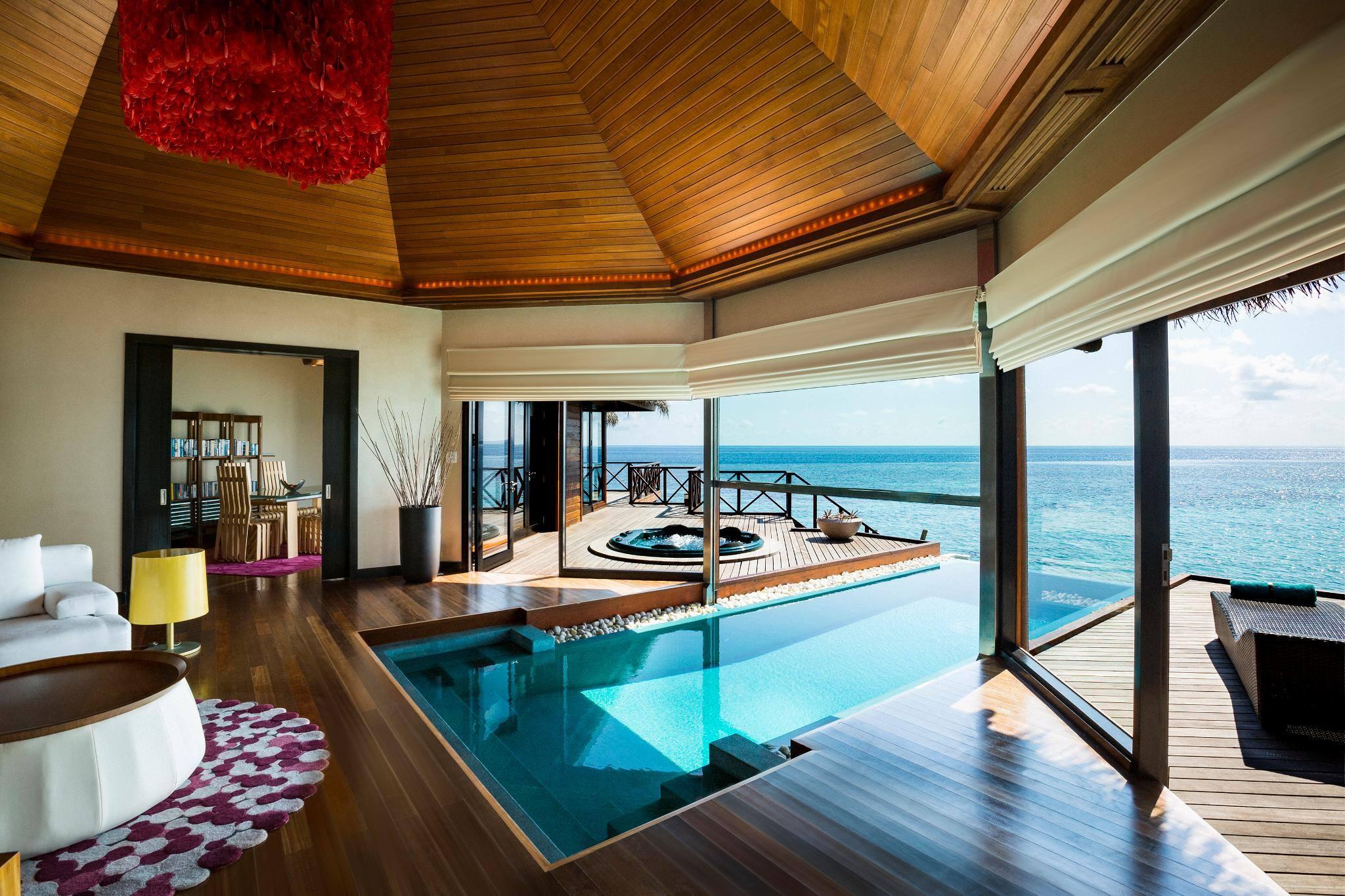 Resort Maldive per-aquum-huvafen-fushi