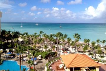 Aruba -Vista dall'Occidental