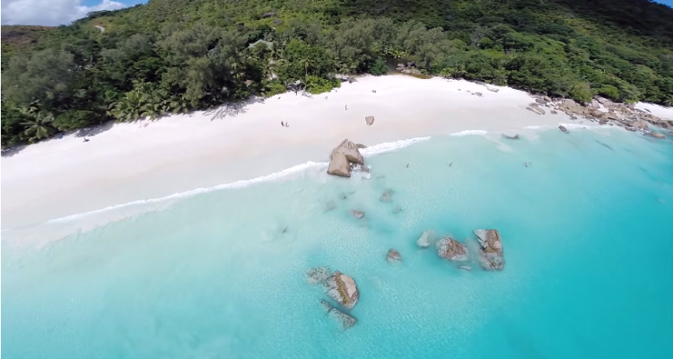 Video Isole Seychelles drone GoPro