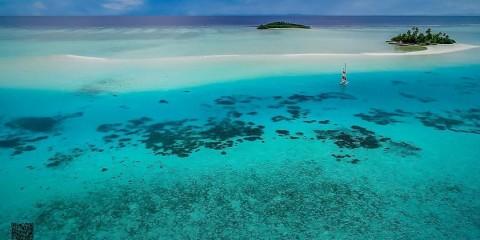 Maldive in catamarano