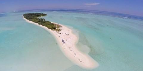 Maldive Alternative foto con drone