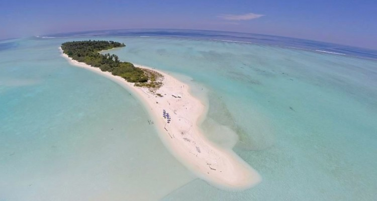Maldive Alternative foto con drone